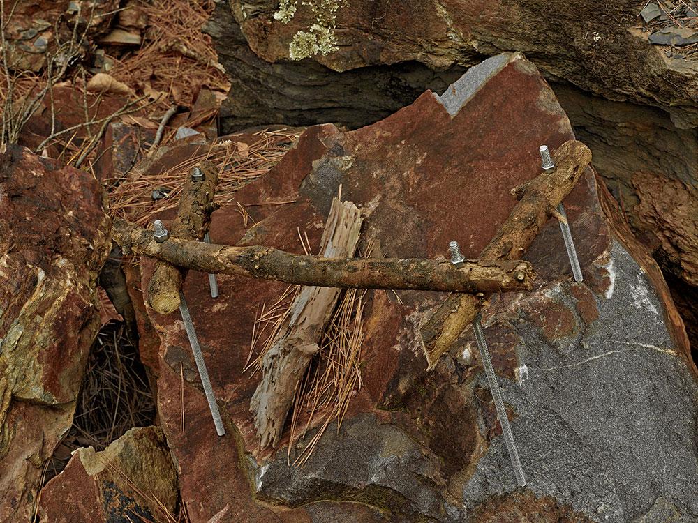 <em>Contraption with Sticks & Threaded Rod</em>